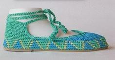 Örgü Ayakkabı Modelleri 77