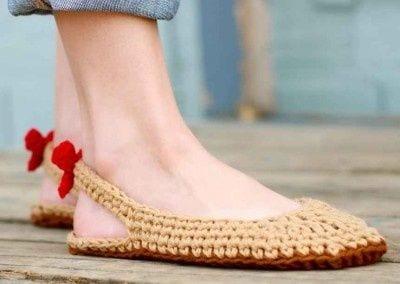 Örgü Ayakkabı Modelleri 78