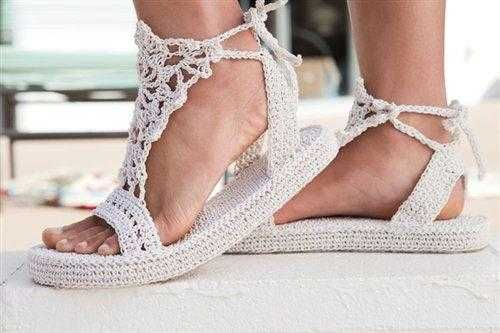 Örgü Ayakkabı Modelleri 84