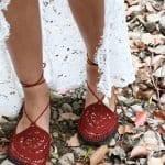 Örgü Ayakkabı Modelleri 88