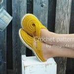 Örgü Ayakkabı Modelleri 8