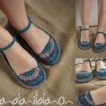 Örgü Ayakkabı Modelleri 89