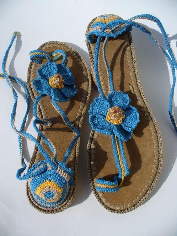 Örgü Ayakkabı Modelleri 92