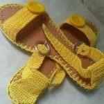Örgü Ayakkabı Modelleri 93