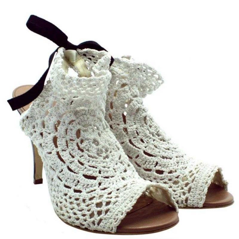 Örgü Ayakkabı Modelleri 94