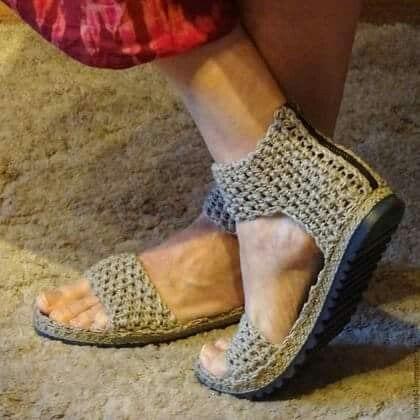 Örgü Ayakkabı Modelleri 97