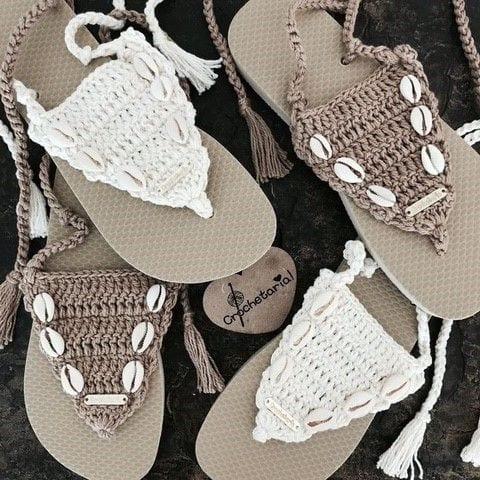 Örgü Ayakkabı Modelleri