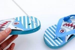 Örgü Çocuk Ayakkabısı Yapılışı 1