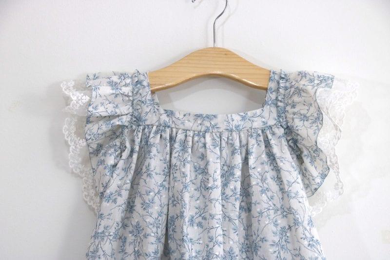 Dantel Fırfırlı Elbise Yapımı 11
