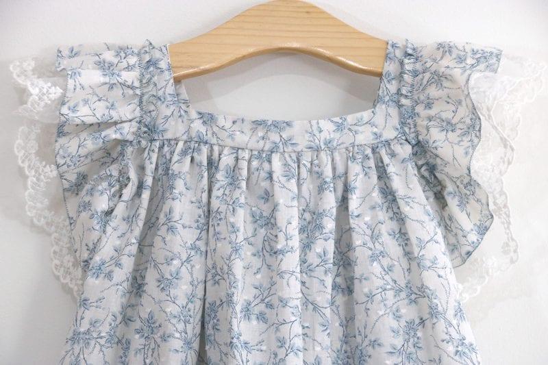 Dantel Fırfırlı Elbise Yapımı 12