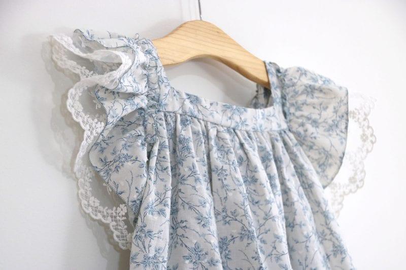 Dantel Fırfırlı Elbise Yapımı 13