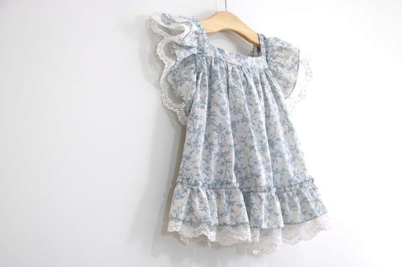 Dantel Fırfırlı Elbise Yapımı 15