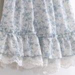 Dantel Fırfırlı Elbise Yapımı 16