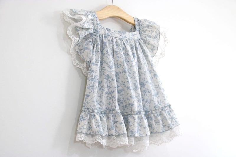 Dantel Fırfırlı Elbise Yapımı 19