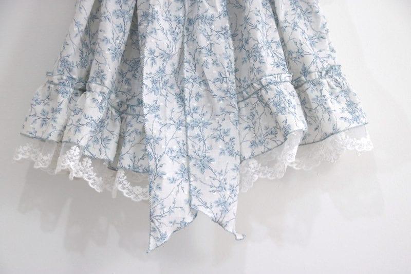 Dantel Fırfırlı Elbise Yapımı 20