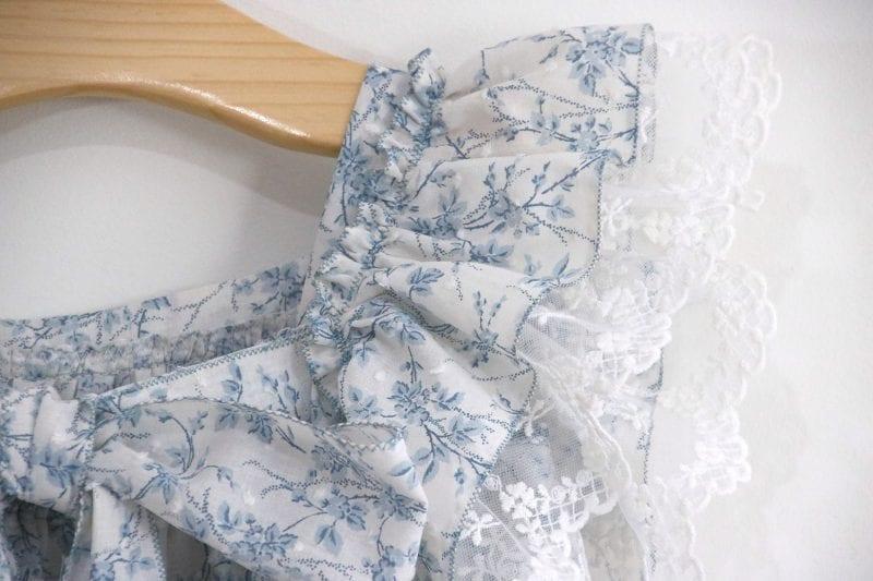 Dantel Fırfırlı Elbise Yapımı 21