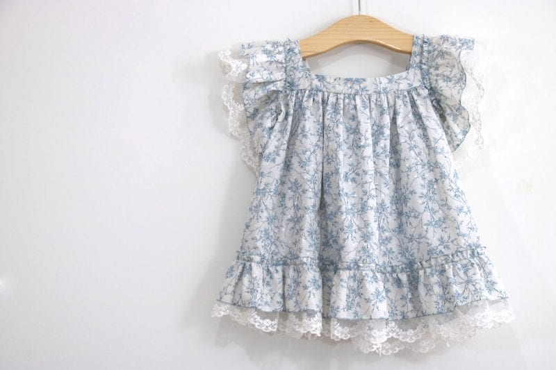 Dantel Fırfırlı Elbise Yapımı 22