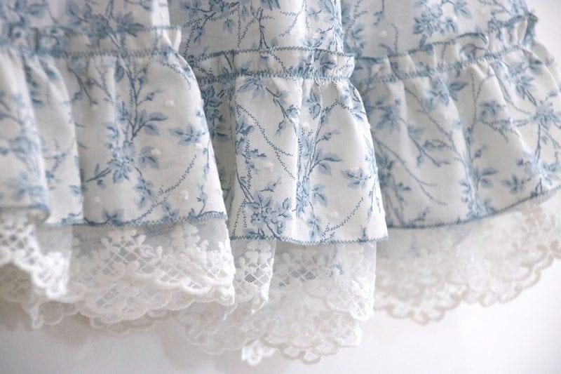 Dantel Fırfırlı Elbise Yapımı 26