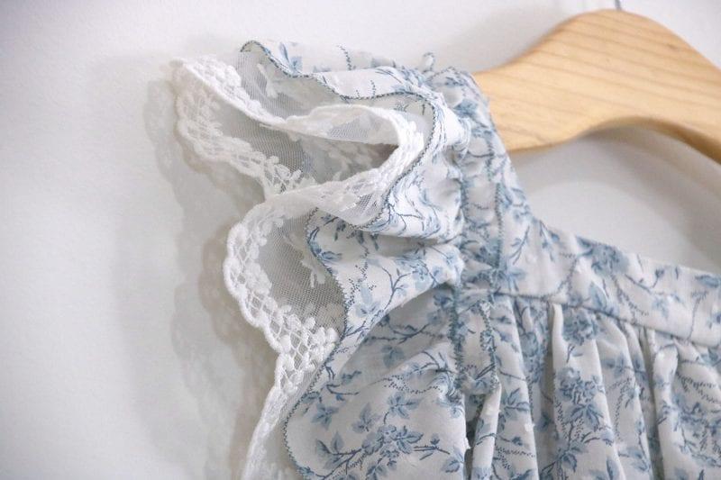 Dantel Fırfırlı Elbise Yapımı 3