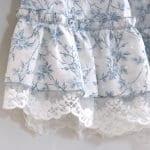 Dantel Fırfırlı Elbise Yapımı 4