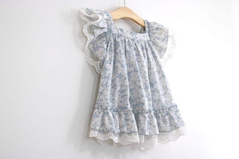 Dantel Fırfırlı Elbise Yapımı 5