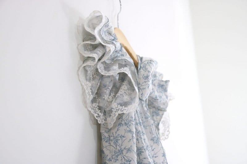 Dantel Fırfırlı Elbise Yapımı 6