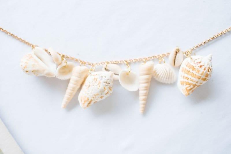Deniz Kabuğu Bileklik Yapımı 10