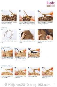 Kağıt İp Örgü Şapka Modelleri ve Yapılışları 18