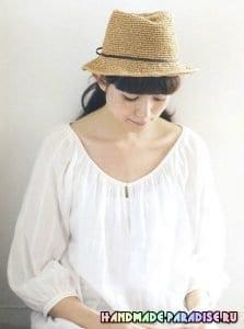 Kağıt İp Örgü Şapka Modelleri ve Yapılışları 19