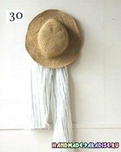 Kağıt İp Örgü Şapka Modelleri ve Yapılışları 22