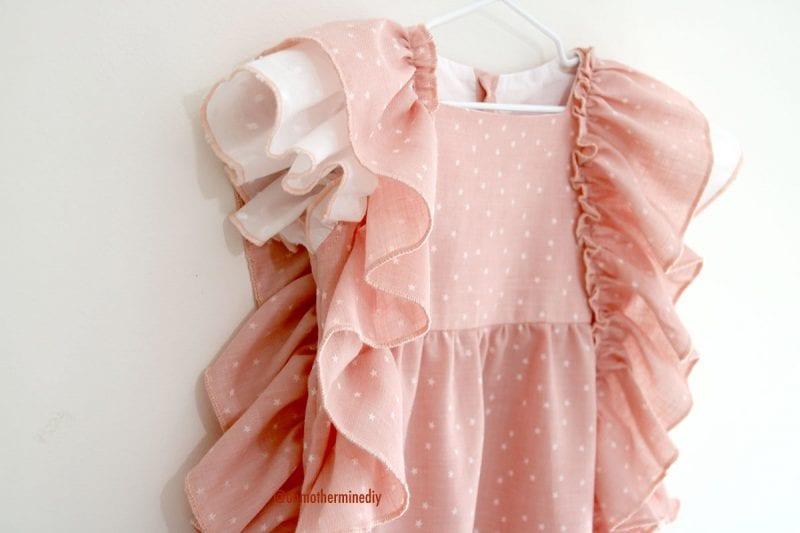 Kumaş Bebek Elbisesi Dikimi 12