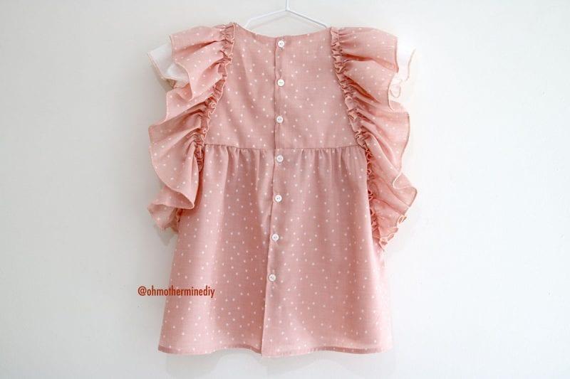 Kumaş Bebek Elbisesi Dikimi 13