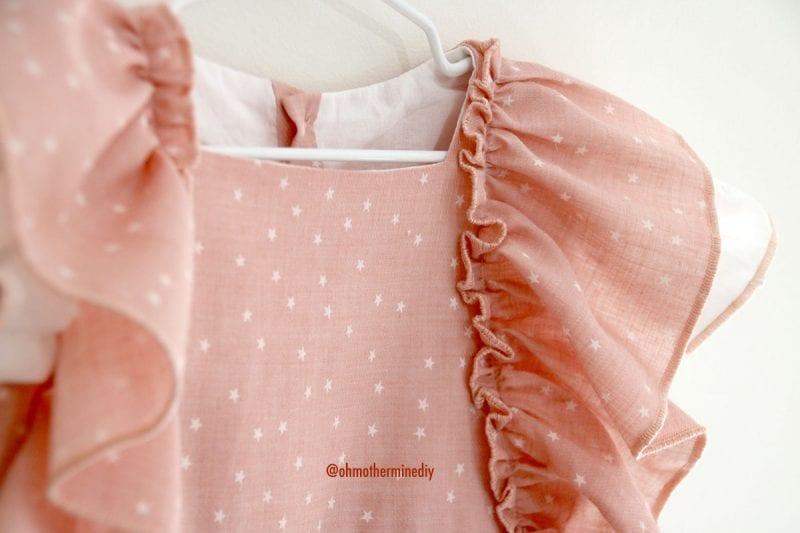 Kumaş Bebek Elbisesi Dikimi 14