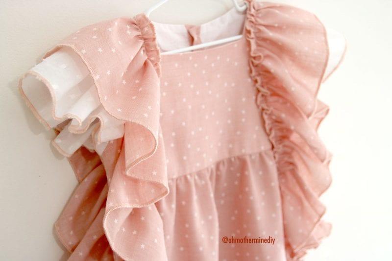 Kumaş Bebek Elbisesi Dikimi 15