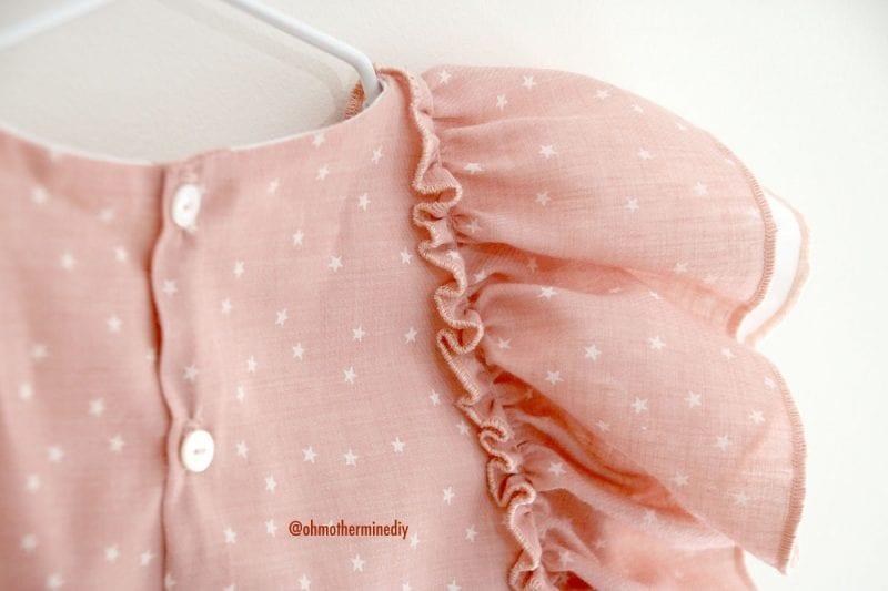Kumaş Bebek Elbisesi Dikimi 16