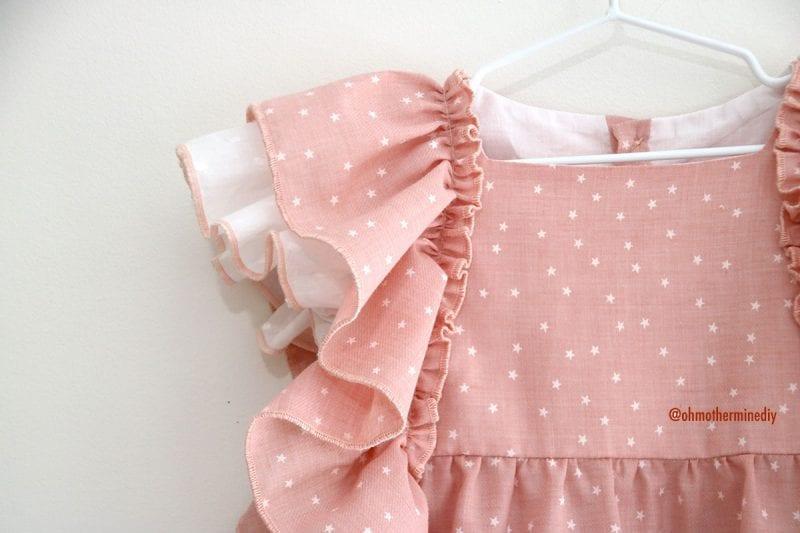 Kumaş Bebek Elbisesi Dikimi 1