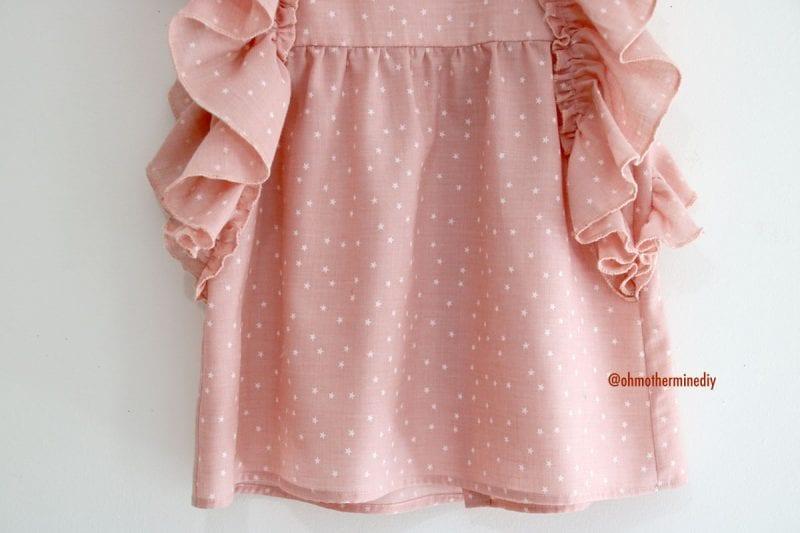 Kumaş Bebek Elbisesi Dikimi 19