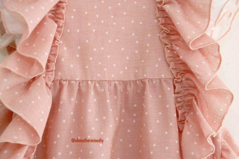 Kumaş Bebek Elbisesi Dikimi 2