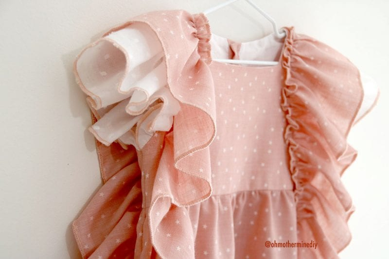 Kumaş Bebek Elbisesi Dikimi 4