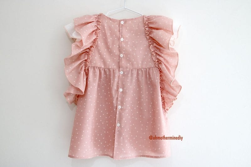 Kumaş Bebek Elbisesi Dikimi 6