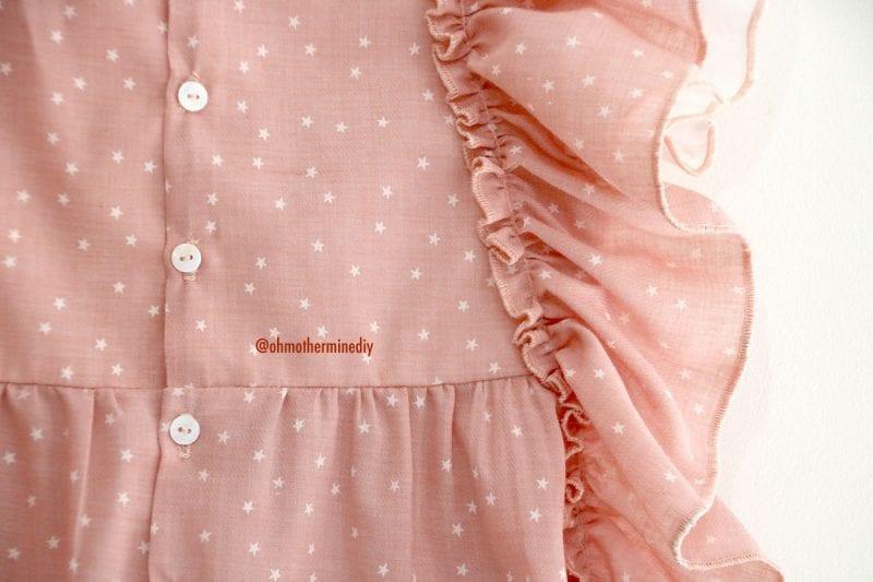 Kumaş Bebek Elbisesi Dikimi 8