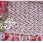 Örgü Kumaş Karışımı Tığ İşi Bebek Elbiseleri 7
