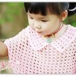 Yarasa Kol Örgü Bebek Kazak Yapılışı 10