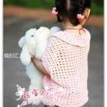 Yarasa Kol Örgü Bebek Kazak Yapılışı 18