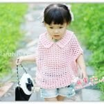 Yarasa Kol Örgü Bebek Kazak Yapılışı 20