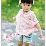 Yarasa Kol Örgü Bebek Kazak Yapılışı 22