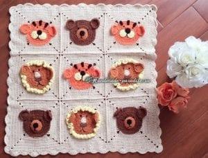 Bebek Battaniye Modelleri Anlatımlı