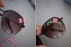 İşlemeli Gözlük Yapılışı 5