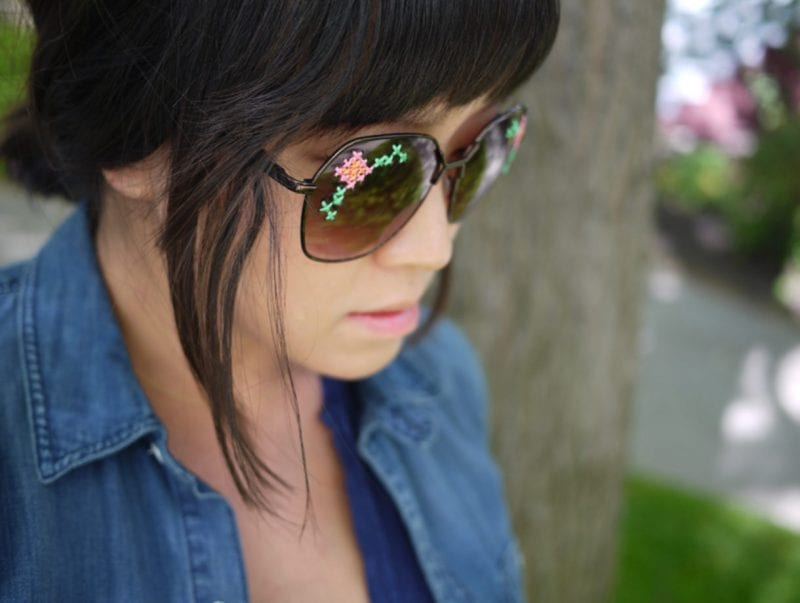 İşlemeli Gözlük Yapılışı 6