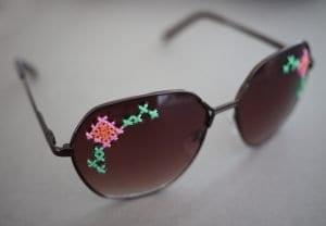 İşlemeli Gözlük Yapılışı 7